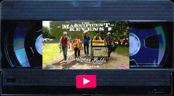The Magnificent Kevens Festival Busking Band ElderflowerFields Festival VHS image